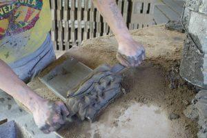 lavorazione del cotto fatto a mano, fornace Cotto del Castello