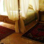 pavimento in cotto camera matrimoniale