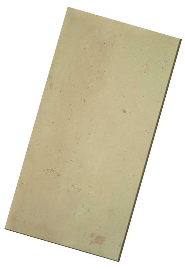 mattone giallo levigato, cotto fatto a mano