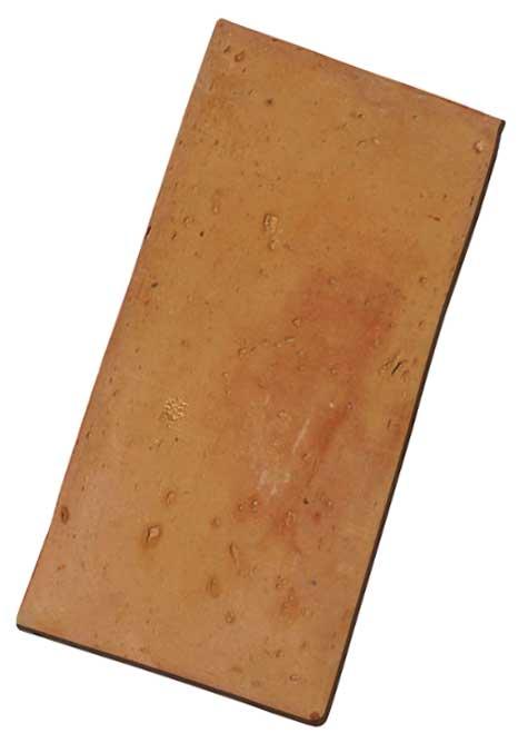 mattone rosa levigato, cotto fatto a mano