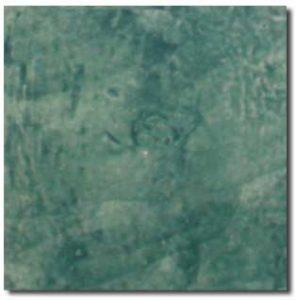 cotto fatto a mano smaltato, verde smeraldo