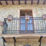 balcone in cotto fatto a mano