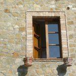 mazzetta di finestra in cotto